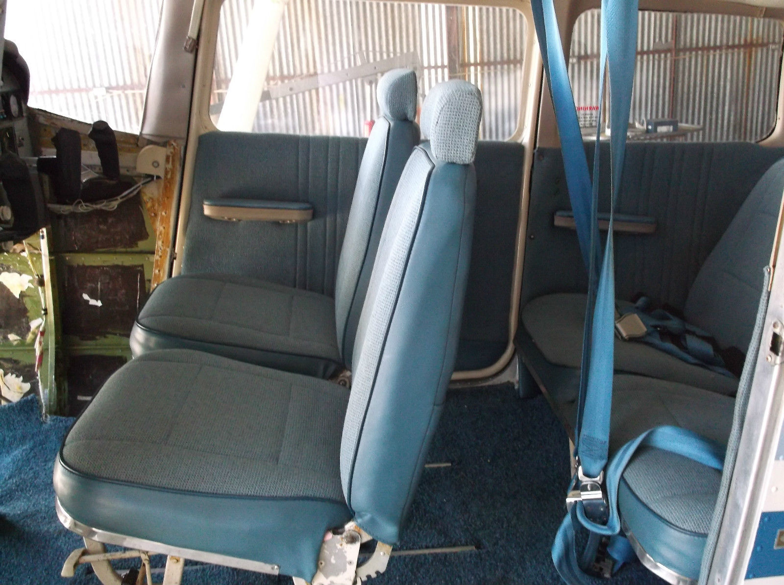 The Donor Aircraft Has The Common Airtex Interior. It Is Quite Presentable  And Will Be Retained Until The Project Is Complete.